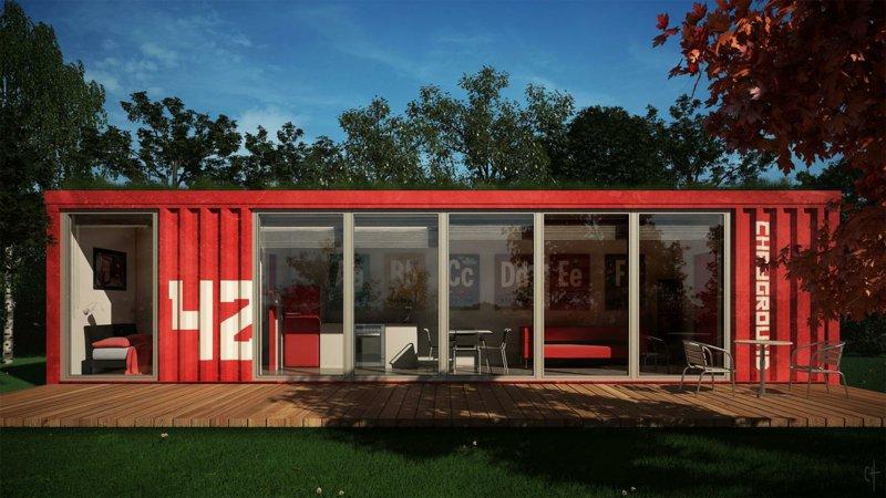 Die 5 kreativsten Wohncontainerhäuser Europa - SLC Wohncontainer