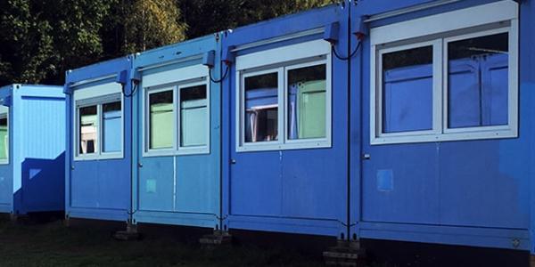 Wohncontaineranlage